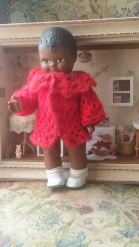 En attendant le père Noel, vendredi 18 décembre 2015 avec cette adorable poupée noire.
