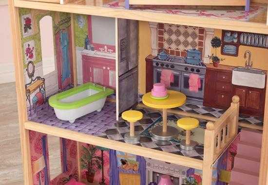 Les maisons de poupées.