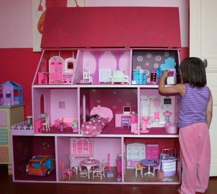 Tuto pour réaliser une maison de poupée.