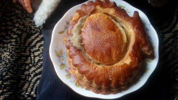 A midi, feuilleté aux noix de Saint Jacques