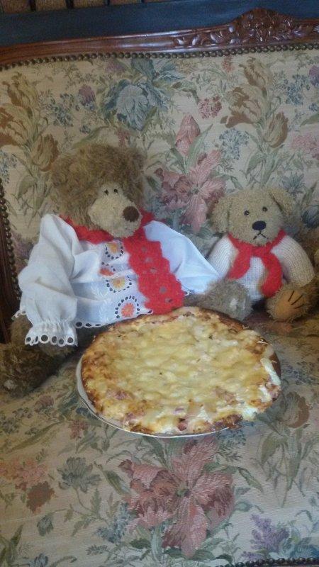 A  la saint Nicolas, manges ta pizza. proverbe des nounours!