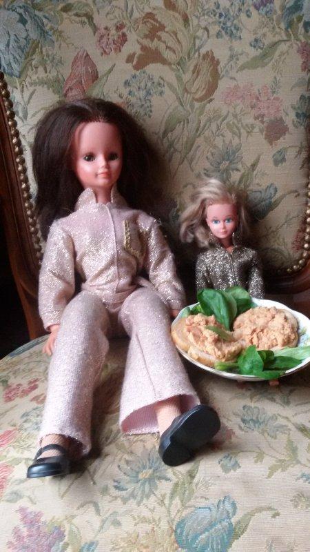 Cathie et Tressy vous souhaitent un bon appétit