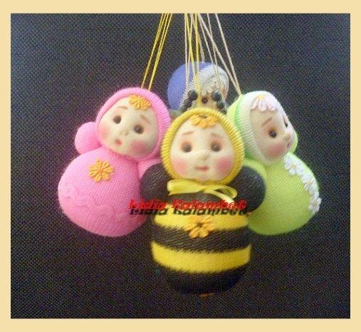 Mini-poupées pour nos poupées
