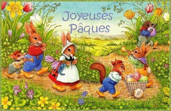 Bon dimanche de Pâques les amis,