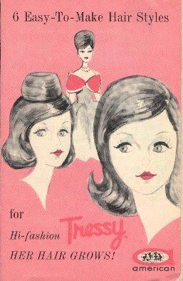 Comment coiffer Tressy  3 ième partie.
