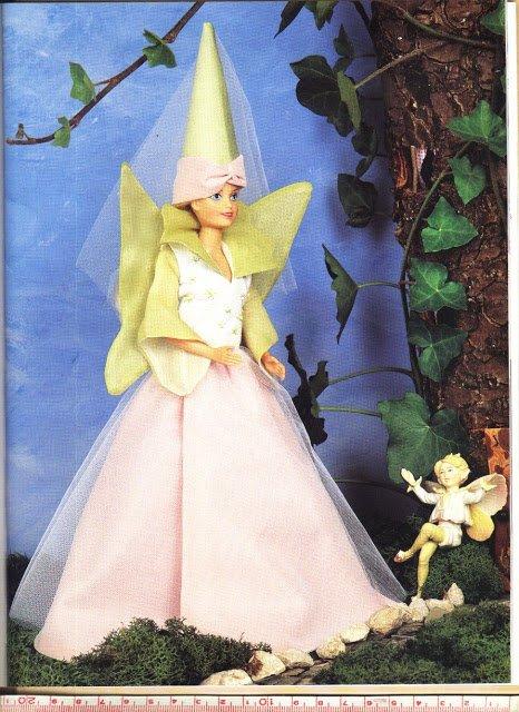 Patron Barbie contes de fées.