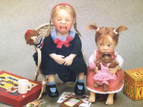 Les poupées miniatures de Catherine Munière