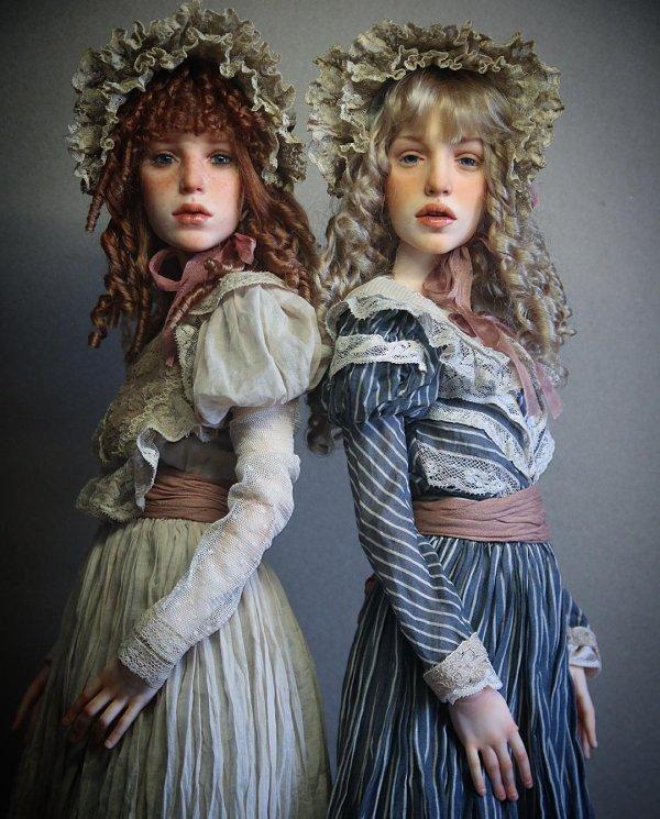 Les poupées réalistes de Michael Zajkov, on aime ou pas mais on ne reste pas indifférent.