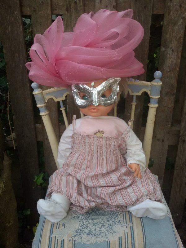 Fan du carnaval de Venise.
