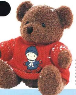 Tricotes un pull pour ton  ours.