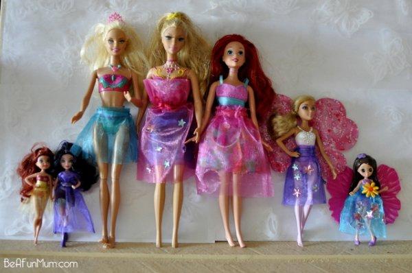 Jupe en organza pour les mannequins et petites poupées.