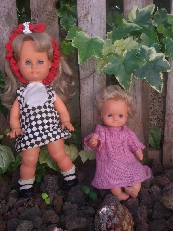 Des poupées qui sont à la maison depuis des années et qui ne viennent pas souvent sur le blog.