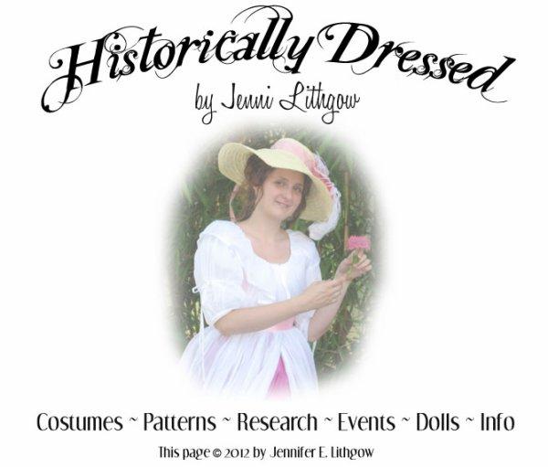 Un bien joli site, des costumes historiques, des patrons et des poupées, bonne visite.