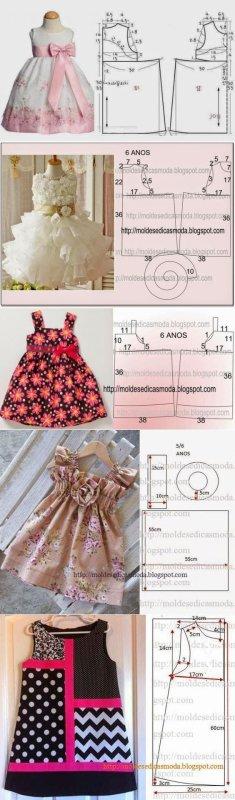 Patrons pour les enfants, reborn, poupées, selon la taille d'agrandissement, bonne couture.