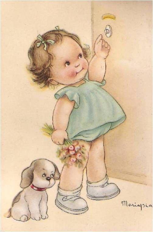 Bonne fête à toutes les mamans....sans oublier les mamans des poupées.