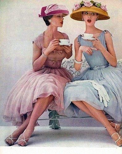 C'est l'heure du thé.