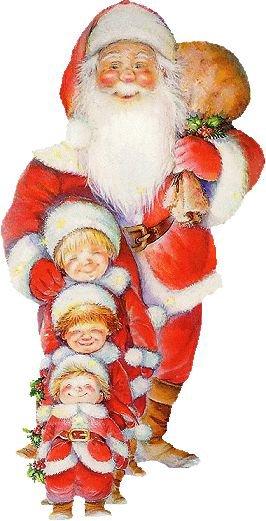 En attendant le Père Noel avec Tressy. Vendredi 22 décembre   2017.