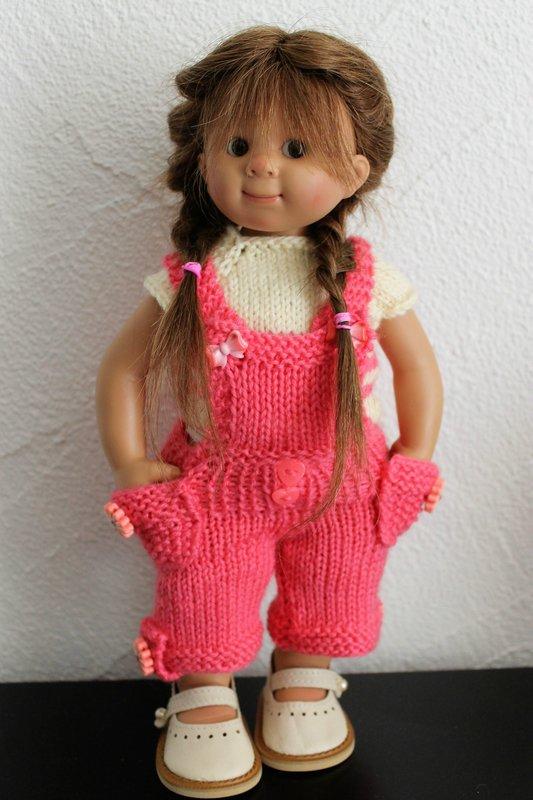 Tuto salopette pour poupées Wichtel (32 cms)