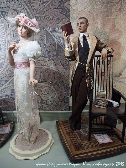 Les poupées d' Irina Balashenko: De la Haute couture miniature