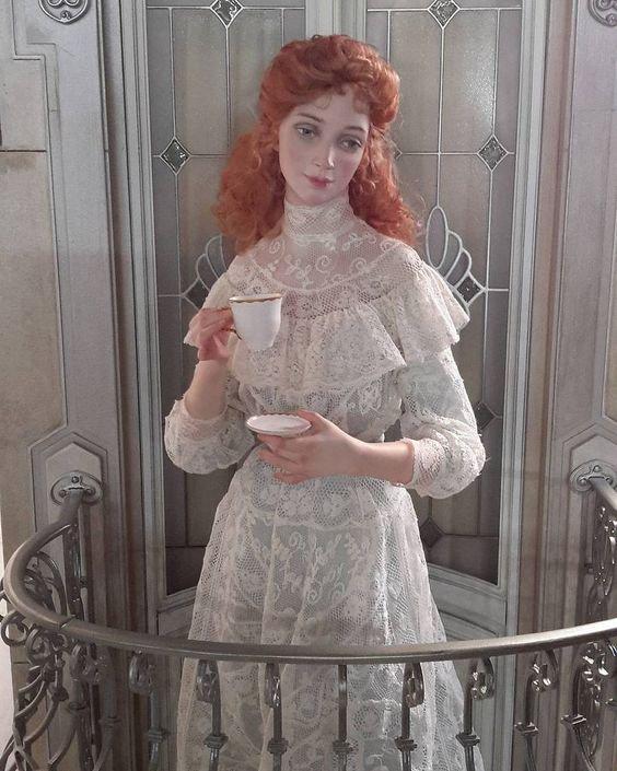Les poupées d' Irina Balashenko: De la Haute couture miniature suite.