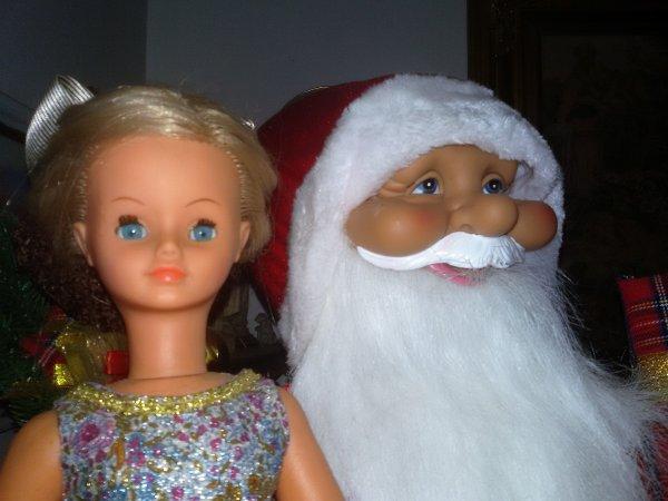 En attendant le Père Noel  vendredi   15 décembre 2017,  Voici Cathie.