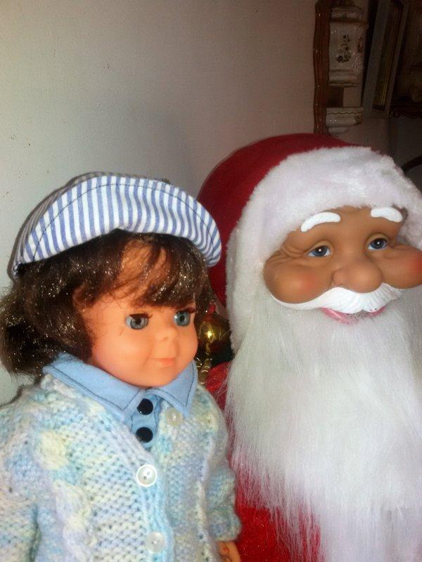 En attendant le Père Noel   samedi 16 décembre 2017. avec Jean-Michel  - 4 photos.
