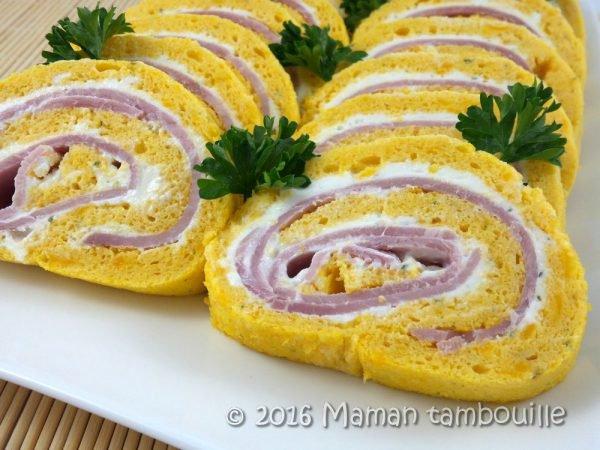 Cette recette à base de courge, fromage frais et jambon à préparer avec les enfants, fera une sympathique entée.