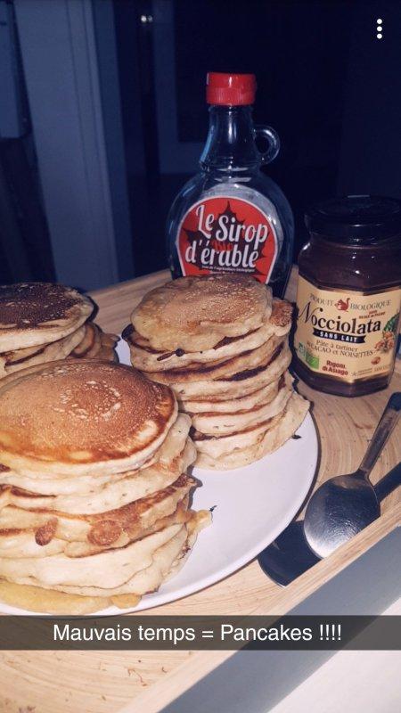 C'est l'heure du petit déjeuner.