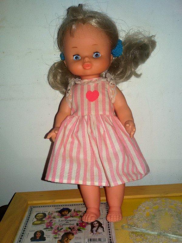 Je ne garde pas, à échanger jolie poupée  de chez Famosa  Adoptée.