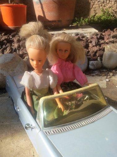 Les Tressy en balade, et en écho à Claudine, la petite soeur de Twiggy.