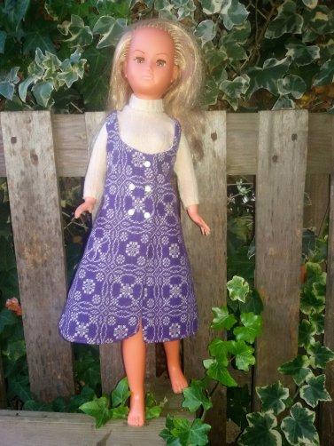 Dolly de GéGé habillée en GéGé Haute Couture.