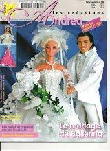 Catalogue pour coudre pour Barbie et Ken.