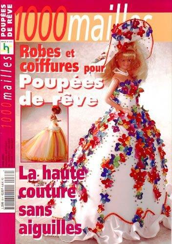 Catalogue, la haute couture sans aiguille pour poupée mannequin.