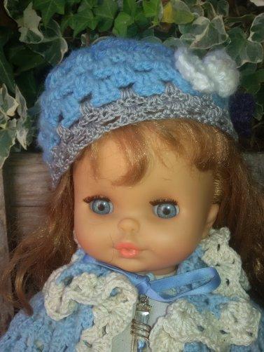 Clodrey et compagnie, pas de la même génération mais copines. Les poupées sont moins compliquées que les humains.