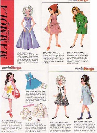 Un site avec de belles photos et documentations  sur les poupées Furga.