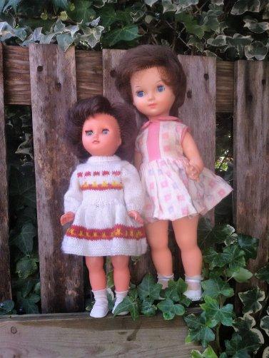 Birgé, et Bella petits modèles.