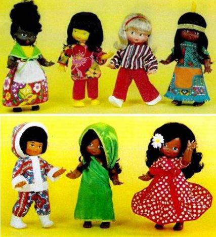 Pour Françoise, les poupées ethniques de Clodrey