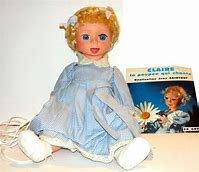 En écho à Claudine, voici Claire la poupée qui chante.