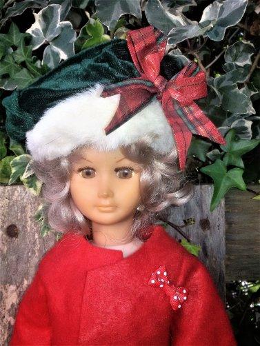 Mélusine de GéGé est prête pour Noel.