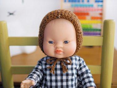 Tuto pour tricoter un bonnet pointu pour poupée