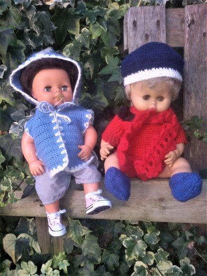 Tinou et Petit Frère de Clodrey, 2 vrais petits gars. 5 photos.
