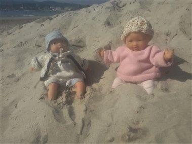 Toujours en mode plage, photos prises à midi, il y avait du soleil comme en juin.