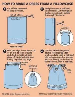 Que faire d'une jolie taie d'oreiller vintage?