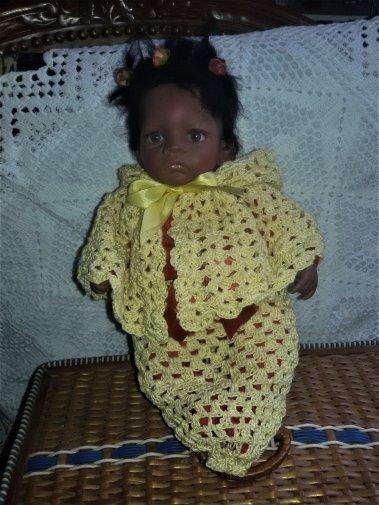 Du crochet pour Jasmine. 3 photos.