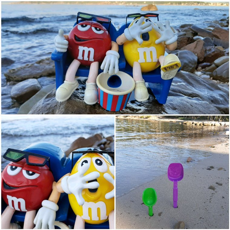 Drôles de vacanciers rencontrés sur la plage...