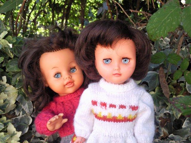 Les  poupées de Marie-Yvonne