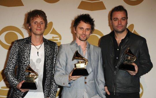 MUSE hier soir a remporté le Grammy du meilleur album rock avec The Resistance