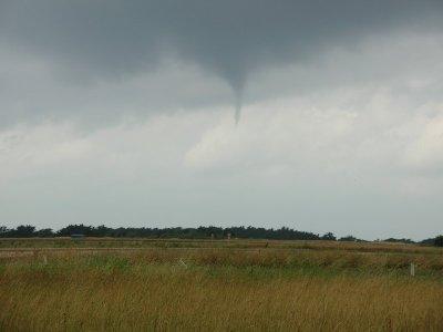 Une tornade en Charante Maritime le 29 juin 2005 .