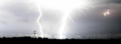 Un orage en Normendie .