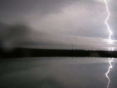 Un orage d Evreux .